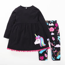 Load image into Gallery viewer, Jessie Unicorn Shirt & Leggings Set, 3T,  - CeCe & Jax