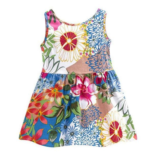 Yesenia Flower Dress, ,  - CeCe & Jax