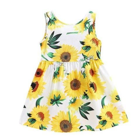 Sweetfire Sunflower Dress, ,  - CeCe & Jax