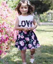 Load image into Gallery viewer, Love N' Roses Tank Top & Skirt Set, 3T,  - CeCe & Jax