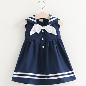 Sweetie Sailor Dress, Navy, 2T - CeCe & Jax