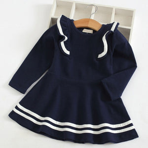 Sweetheart School Dress, Navy, 2T - CeCe & Jax