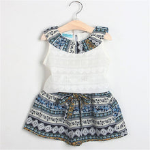Load image into Gallery viewer, Neema Patterned Top & Shorts Set, 2T,  - CeCe & Jax