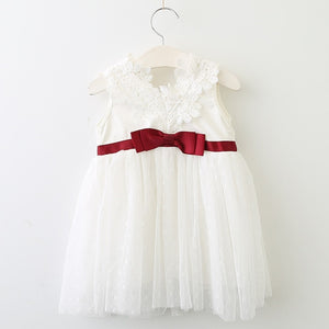 Lacey Doll Dress, White, 12M - CeCe & Jax