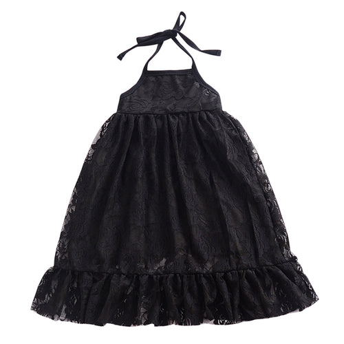 Anna Lace Dress, Black, 12M - CeCe & Jax
