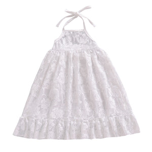 Anna Lace Dress, White, 12M - CeCe & Jax