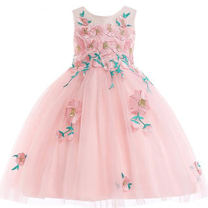 Gabrielle Floral Lace Dress, Pink, 4T - CeCe & Jax