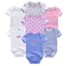 Load image into Gallery viewer, Zoomie Patterned Short Sleeve 7pc, Happy, 3M - CeCe & Jax