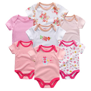 Zoomie Patterned Short Sleeve 7pc, I love you, 3M - CeCe & Jax