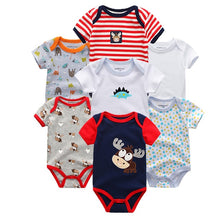 Load image into Gallery viewer, Zoomie Patterned Short Sleeve 7pc, Moose, 3M - CeCe & Jax