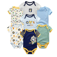Load image into Gallery viewer, Zoomie Patterned Short Sleeve 7pc, Raccoon, 3M - CeCe & Jax