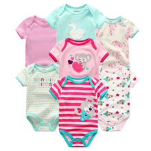 Load image into Gallery viewer, Zoomie Patterned Short Sleeve 7pc, Mermaid Kisses, 12M - CeCe & Jax