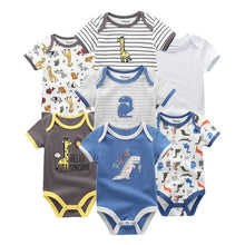 Load image into Gallery viewer, Zoomie Patterned Short Sleeve 7pc, Dino Mix, 12M - CeCe & Jax