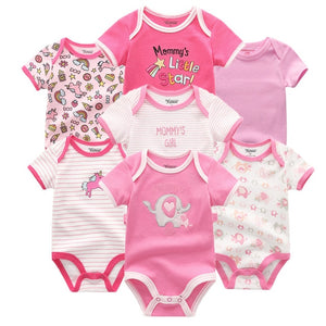Zoomie Patterned Short Sleeve 7pc, Mommy's Girl, 12M - CeCe & Jax