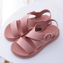 Load image into Gallery viewer, Big Boss Gladiator Platform Sandals, Dusty Rose, 4.5 - CeCe & Jax