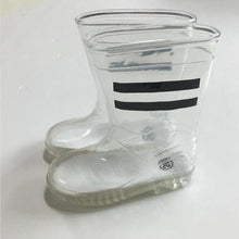 Load image into Gallery viewer, Marley Transparent Rain Boots, Black, 8 - CeCe & Jax