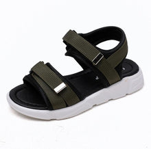 Load image into Gallery viewer, Joey Velcro Sandals, Green, 9.5 - CeCe & Jax