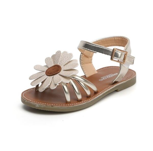Josie Sunflower Sandals, Gold, 6.5 - CeCe & Jax