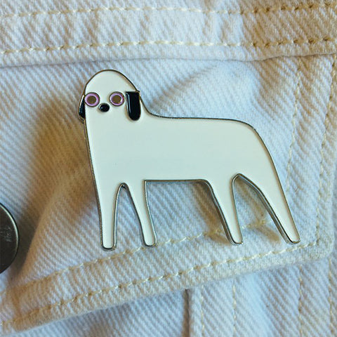 Tim Spooner, Animal Enamel Badge