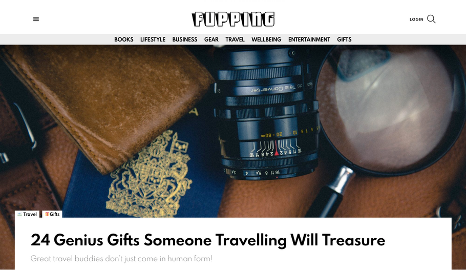 24 Genius Gifts Someone Travelling Will Treasure