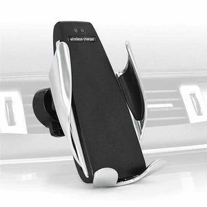 Silver S5 - Smart Sensor Wireless Car Charger