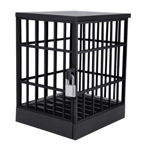 okeegadgets-closed-black-side-view-jail-cell-for-mobile-smart-devices-cool-gadgets-cheap-gag-gifts
