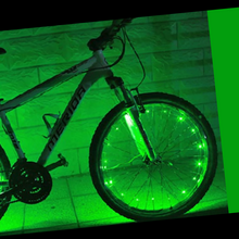 Load image into Gallery viewer, Colorful LED Bicycle Rim Lights