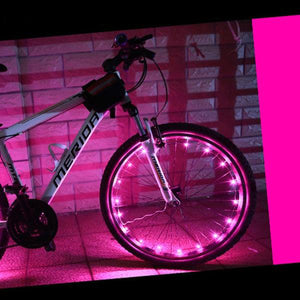 okeegadgets-led-bike-bicycle-RIM-lights-DETAIL-VIEW-PINK-COLOR