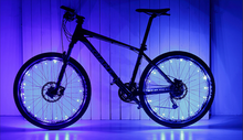 Load image into Gallery viewer, okeegadgets-colorful-led-bike-bicycle-RIM-lights-in-blue-available-at-okeegadgets