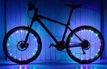 Load image into Gallery viewer, okeegadgets-colorful-led-bike-bicycle-RIM-lights-in-multicolor-rainbow-available-at-okeegadgets