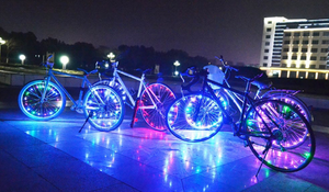 Colorful LED Bicycle Rim Lights