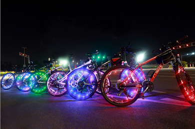 okeegadgets-lineup-colorful-led-bike-bicycle-RIM-lights-6-colors-available-at-okeegadgets