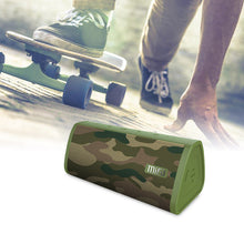 Load image into Gallery viewer, okeegadgets-portable-water-resistant-bluetooth-speaker-camoflauge-color-skateboarder