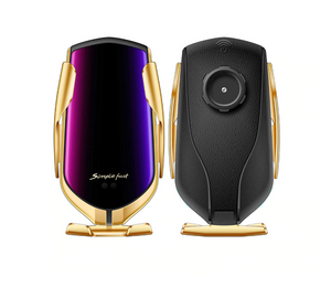 Gold R1 - Smart Sensor Wireless Car Charger