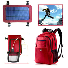 Load image into Gallery viewer, Solar Panel Outdoor Backpack