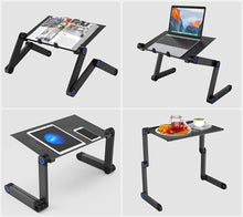 Load image into Gallery viewer, 4-example-ways-okeegadgets-portable-adjustable-laptop-desk