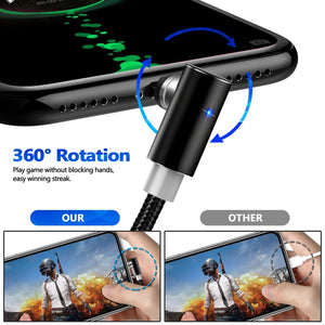 Fast Magnetic Cable Micro USB iPhone XS X XR 8 7 Samsung S8
