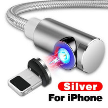 Load image into Gallery viewer, Fast Magnetic Cable Micro USB iPhone XS X XR 8 7 Samsung S8