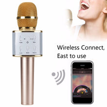 Load image into Gallery viewer, Karaoke Microphone  Bluetooth
