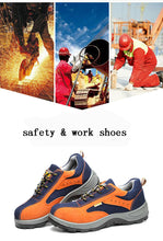 Load image into Gallery viewer, Work Safety Shoes Steel Toe