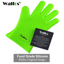 Load image into Gallery viewer, Heat Resistant Silicone Kitchen barbecue oven glove