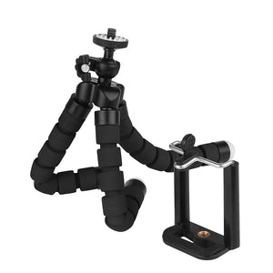okeegadgets octopus tripod black detail back to school summer flexible fun gadget