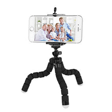 Load image into Gallery viewer, okeegadgets octopus tripod in black back to school summer flexible fun gadget