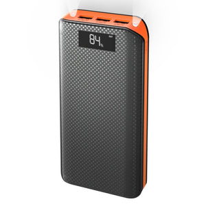 Power Bank 3 USB External Battery Pack