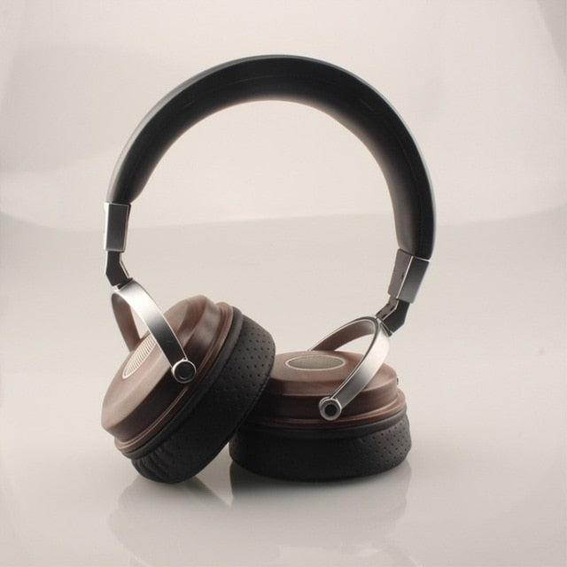 Stereo Headphone Open Dynamic Wooden