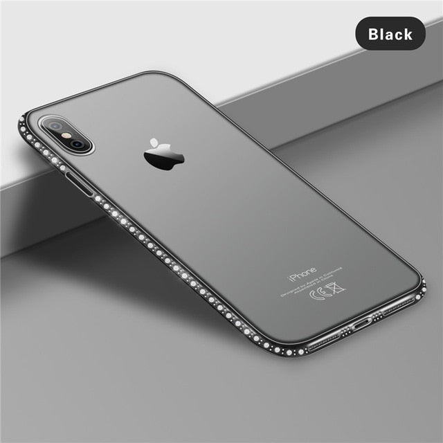 Soft Bling Diamond Case For iPhone XR X 8 7 6s Plus 5s SE