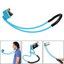 Load image into Gallery viewer, 360-Degree Hands-Free Flexible Cell Phone Holder - Multiple Views- Blue