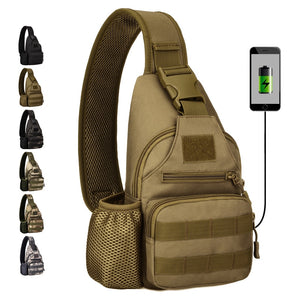 USB Powered Tactical Crossbody