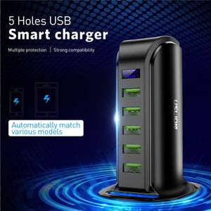Multi USB Charging Station Dock Universal Mobile Phone