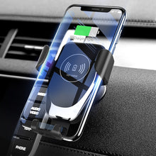 Load image into Gallery viewer, Car Wireless Charger For iPhone Xs Max XR X Samsung